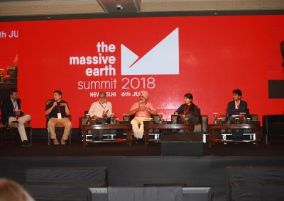 Madhukar Sinha at Startup Pitch Massive Earth Summit