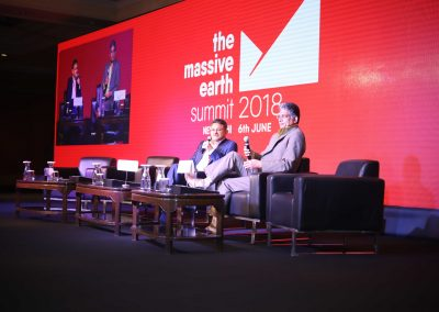 Manoj Kohli and Ravi Sharma at Massive Earth Summit